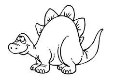 ausmalbilder dinos kostenlos 07 | malvorlagen | dinosaurier zum ausmalen, dinosaurier malen und
