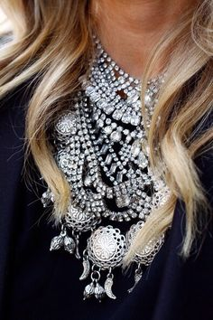 Crystal Necklaces http://rstyle.me/n/t3a2n4ni6