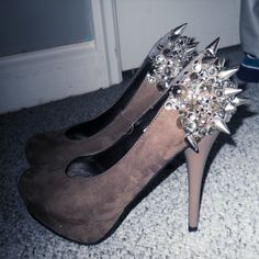 DIYed shoes
