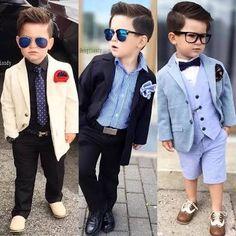 Resultado de imagem para engjiandy Little Boy Outfits, Little Boy Fashion, Kids Fashion Boy, Young Fashion, Toddler Fashion, Baby Boy Outfits, Fashion Trends 2018, Fashion 2015, Moda Kids