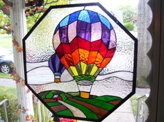 Hot Air Balloons - from Delphi Artist Gallery by Kebel57 HouseofGlass