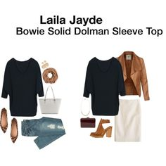 Laila Jayde - Bowie Solid Dolman Sleeve Top - got in Fix #5 in navy and KEPT.