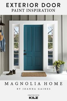 Thanks to a new coat of Premium Exterior Paint from the Magnolia Home by Joanna Gaines® Paint collection, your front door will never look the same. Whether you prefer a bright pop of color, a classic neutral like white, or a bold shade like black, there are plenty of different shades for you to choose from. Click below to get started.