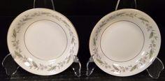 "TWO Royal Jackson Bridal Wreath Berry Fruit Dessert Bowls 5 1/2"" (Set of 2) EUC! #RoyalJackson Fruit Dessert, Dessert Bowls, Al Jackson, 2 Set, China Dinnerware, Vintage Love, Berry, Decorative Plates, Pottery"
