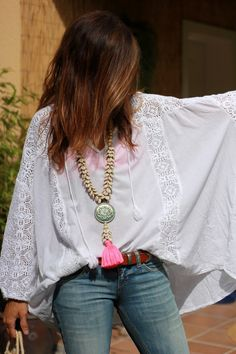 Boho Outfits – Page 2183973693 – Lady Dress Designs Hippie Style, Estilo Hippie Chic, Mode Hippie, Hippy Chic, Bohemian Mode, Hippie Boho, Bohemian Style, Hippie Jewelry, Hippie Clothing