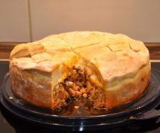 Rezept Gyros-Torte von langtherm - Rezept der Kategorie Backen herzhaft