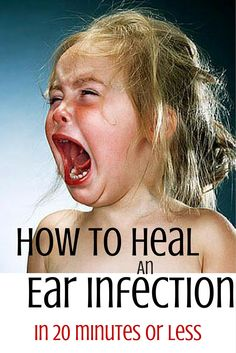 How to Heal ear infection fast. Worth a shot.