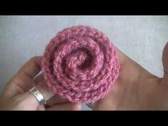How to Crochet a Deco Rose