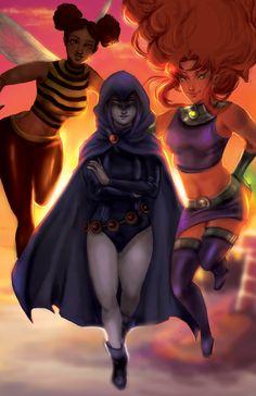 ArtStation - Titans, Alecia Doyley