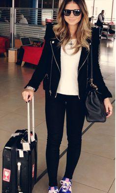 Look de Aeroporto: Legging