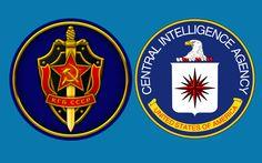 La CIA y la KGB: -La CIA (Agencia Central de Inteligencia) es una agencia que durante la Guerra Fría se infiltró en los medios de comunicación, aportó información estratégica como las advertencias de que la Guerra de Vietnam. -La KGB era la policía secreta de la Unión Soviética, se encargó de obtener y analizar toda la información de inteligencia de la nación.Desapareció cuando se disolvió la Unión Soviética. Military Insignia, Juventus Logo, Porsche Logo, Team Logo, Logos, Wallpaper, Seals, Cold, Google Images