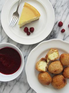 Fried Cheesecake Bites
