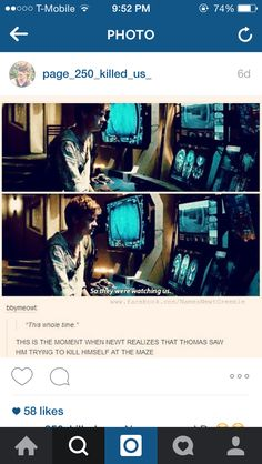 If newt dies before he tells Thomas in the movie I'm going to freak