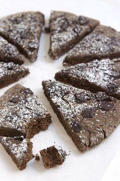 Vegan Chocolate Banana Scones: Healthy, Low Carb, Gluten Free Recipe | MarlaMeridith.com