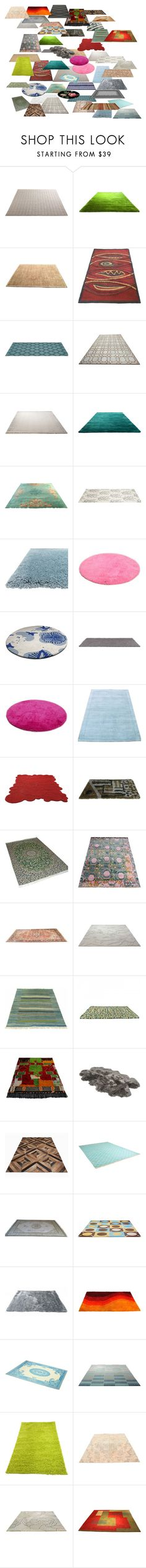 """Rugs with Perspective 447"" by mysfytdesigns ❤ liked on Polyvore featuring interior, interiors, interior design, home, home decor, interior decorating, Matta, ESPRIT, Barbara Barry and INC International Concepts"