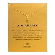 Adorkable Make A Wish, Gold Dipped | Dogeared