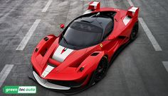 LaFerrari, also known as the F70 and F150, was introduced at the 2013 Geneva Motor Show.  Ferrari's new 'mild hybrid' LaFerrari supercar produces 963 hp. See more details and photos on our site