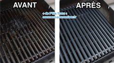 Votre grille de barbecue est complètement noire ? C'est normal que la grille soit très sale après quelques utilisations. Sachez que cuire des aliments sur une grille encrassée n'est pas bon pou...