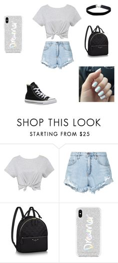 """""""✨✨✨"""" by hali103 ❤ liked on Polyvore featuring Nobody Denim, Converse, Rebecca Minkoff and Miss Selfridge"""