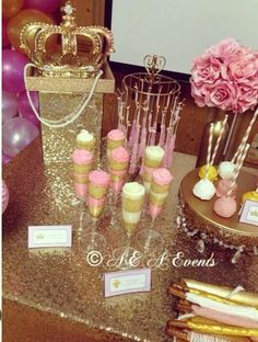 Princess Baby Shower Party Ideas | Photo 2 of 8 | Catch My Party