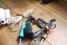 leather bands for extension cords