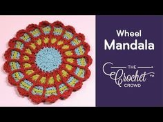 Transfer up a degree with the Wheel Mandala. We begin to entering into stitches that overlay. Select your colors fastidiously. Get the free sample at: Crochet Dishcloths, Crochet Doilies, Crochet Hot Pads, Crochet Crowd, Chunky Knitting Patterns, Chunky Crochet, Mandala Pattern, Learn To Crochet, Knitting Projects