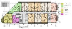 Lay Out Apartemen Bellevue Place Tebet MT Hartono
