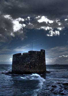 Avenida Maritima .San Cristobal.Las Palmas de Gran Canaria Me encanta el sabor de este barrio marinero y pasear por su avenida¡