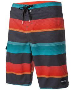 O'Neill Men's Santa Cruz Stripe Boardshorts