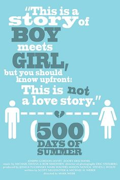 500 Days of Summer movie-posters