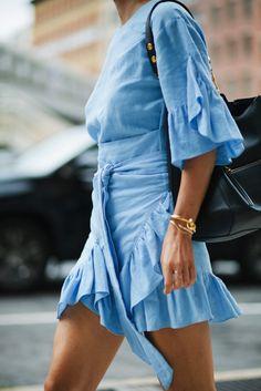 Ruffle dress - 7 Types of Easter Sunday Dresses Under $100 // Notjessfashion.com