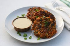 Sweet Potato & Bacon Latkes with Honey Mustard Sauce | fastPaleo Primal and Paleo Diet Recipes