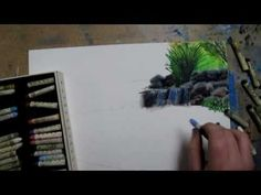 Pond Speed Drawing - YouTube