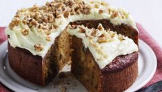Carrot Cake by Taste. This light, moist carrot cake is topped with cream cheese icing infused with orange zest. Easy Carrot Cake, Healthy Carrot Cakes, Sweet Recipes, Cake Recipes, Dessert Recipes, Dinner Party Desserts, Easy Baking Recipes, Simple Recipes, Tea Cakes