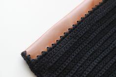 Crocheted Leather Flap Clutch TUTORIAL - delia creates