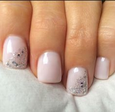 Fancy Nails, Love Nails, How To Do Nails, Pink Nails, Pretty Nails, White Gel Nails, Black Manicure, Yellow Nail, Sparkly Nails