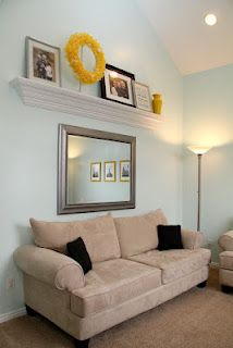 i need ideas like this for my high ceilings!