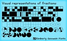Fabulous in Fifth!: Mathematical Mondays: Free Math Fonts that Create Symbols and Manipulatives