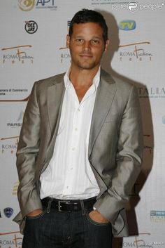 Justin Chambers. I love you Alex Karev