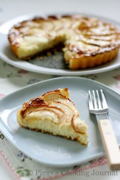 Piggy's Cooking Journal: Apple Cheesecake