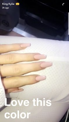 Make an original manicure for Valentine's Day - My Nails Uñas Kylie Jenner, Acrylic Nails Kylie Jenner, Kylie Jenner Nails, Square Acrylic Nails, Long Acrylic Nails, Square Nails, Long Nails, Matte Nails, My Nails