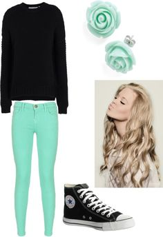 """""""Casual Clothes for a Casual Day"""" by lily-samborska ❤ liked on Polyvore"""