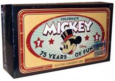 Disney Mickey 75th Collectible Filmography Card Box Set(S)