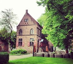 Three Michelin stars restaurant De Librije, this medieval building in the city centre of Zwolle used to be a monastery library.