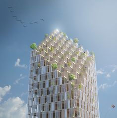 The Style Examiner: Wood Skyscraper Planned for Stockholm