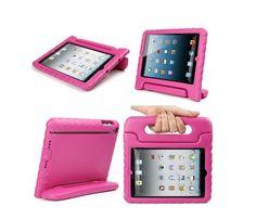 Uma solução prática para transportar o iPad durante um passeio pelo parque. Calma, também há noutras cores. (www.amazon.co.uk Evecase/Amazon)