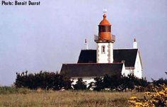Morbihan : phare de Kerdonis (Phare d'île habitée - Belle-Ile-en-Mer)