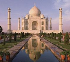 TAJ-MAHAL, INDIA.