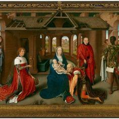 Tríptico de la adoración de los magos, 1470- Hans Memling- Museo Nacional del Prado