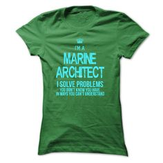 Wear this cool T-shirt and tell the world that you are Marine Architect. Everybody must wear this Designer: xurijob Price: 19$